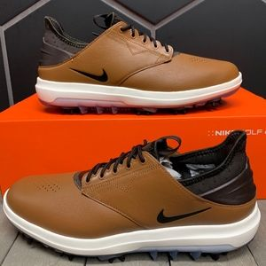 New Nike Air Zoom Direct Tan Golf Shoes